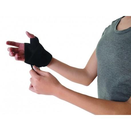 Muñequera envolvente con dedo pulgar