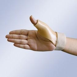 Férula termoplástica para pulgar